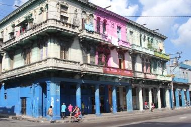 The streets of Havana