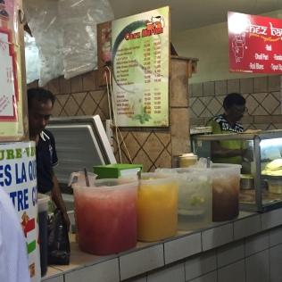 Home-made lemonades @ Port Louis Market