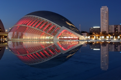 City of Arts and Sciences - paradise for night photography