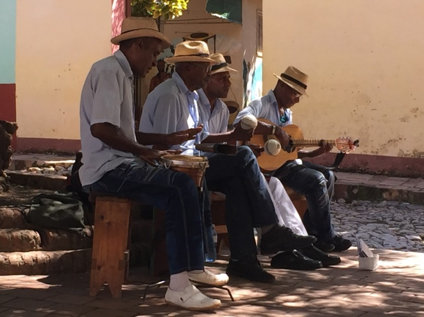 Live music every where invites to sit down in the shadow and let your mind drift away with Cuban music.