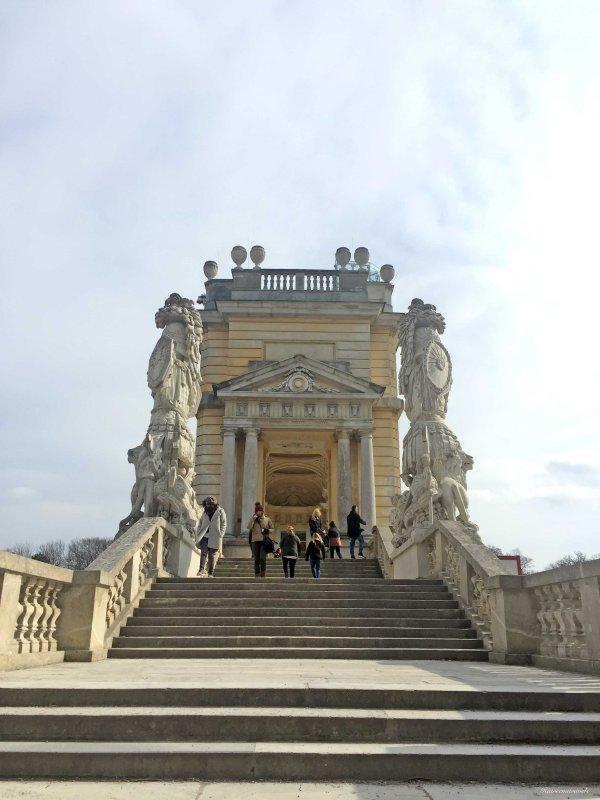 Gardens of Schoenbrunn palace