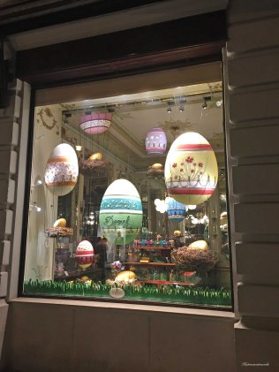 Window of Demel Patisserie