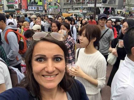 Me at Shibuya crossing
