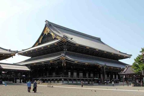 Higashi Hongan-ji Temple in Kyoto