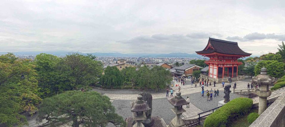 View from the Kiyomizu-dera Temple