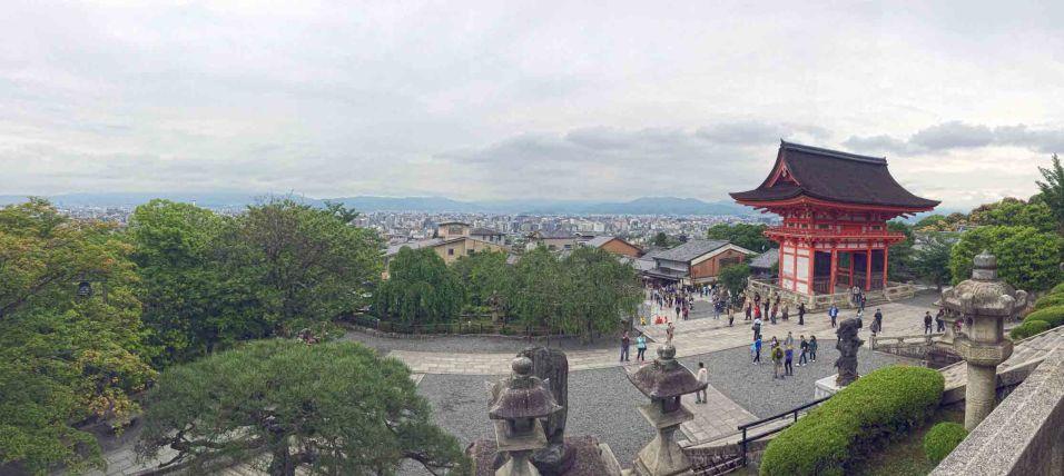 View from the Kiyomizu-dera Temple