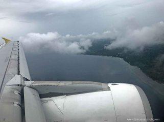 Descent to Bohol