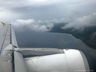 Descent to Bohol