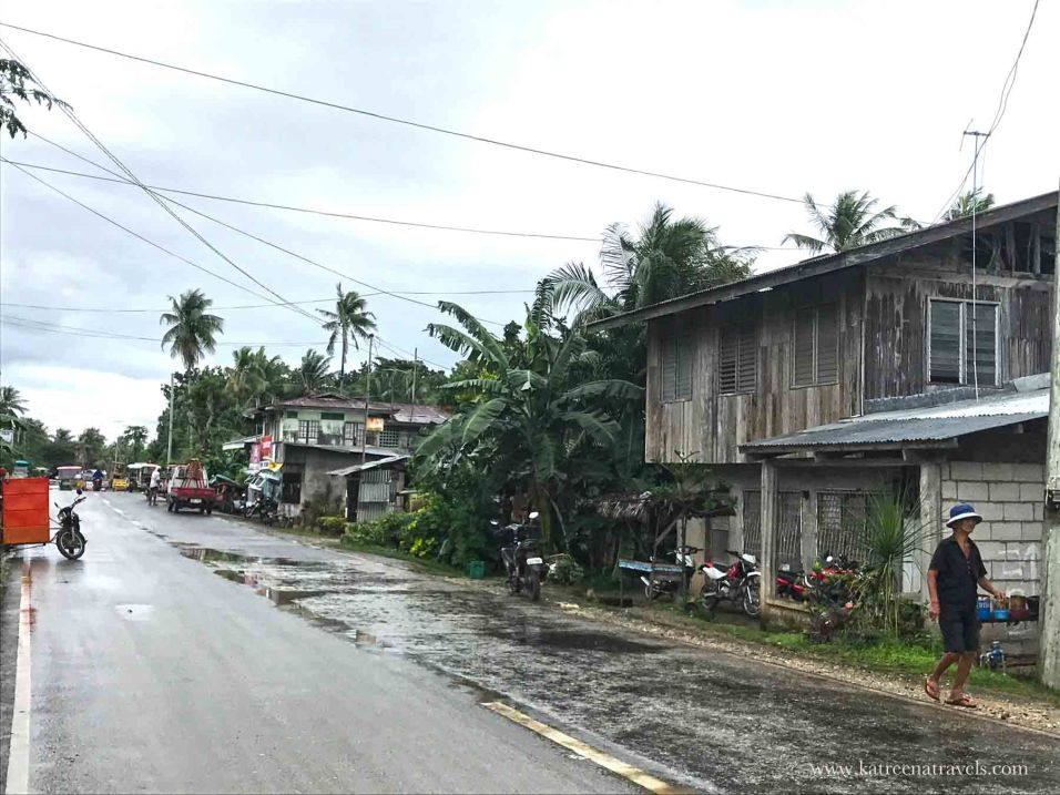Local area on Siquijor