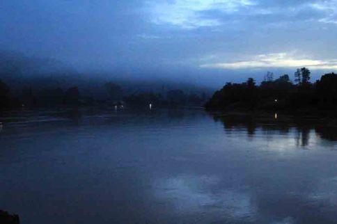 Morning at Kinabatangan river